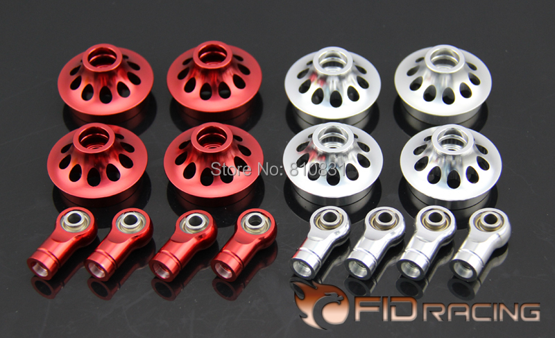 FID enclosed damping ball head group FOR LOSI 5IVE-T fid automatically adjustable shock absorber rod for losi 5ive t
