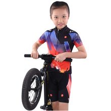 Children Cycling Jersey Sets Pro Team 2018 Balance Bike Clothes Kids Bicycle Clothing MTB Wear Boys Summer Short Set for Girls