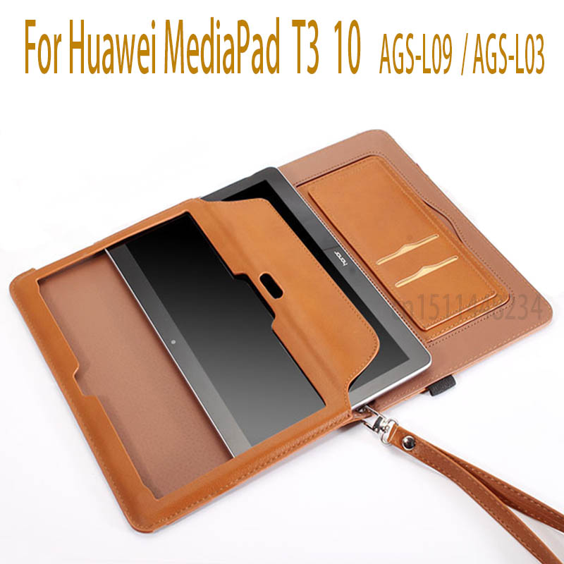 New Case For Huawei MediaPad T3 10 Tablet Smart Magnetic sleep Cases For T3 9.6 inch Honor Play Pad 2 Cover AGS-L09 AGS-L03 W09 folio slim cover case for huawei mediapad t3 7 0 bg2 w09 tablet for honor play pad 2 7 0 protective cover skin free gift