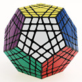 2016 Newest Cubes Shengshou Gigaminx Magic Cube Puzzle Black and White Learning&Educational Cubo magico Toys as a gift