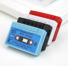 Tape MP3 Recording Card MP3 Gift Mini Player Portable Music Player Support 32G Micro TF Card Slot Can Use As USB Flash Dish(China)