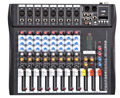 NFS2RU CT80S-USB 8 Channels Mixing Console Equipment Professional Audio DJ Mixer