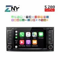 Android 8.0 Auto Radio Car DVD For Touareg Multivan T5 2002 2010 7HD Stereo Bluetooth RDS FM Audio Video GPS Navigation Carplay