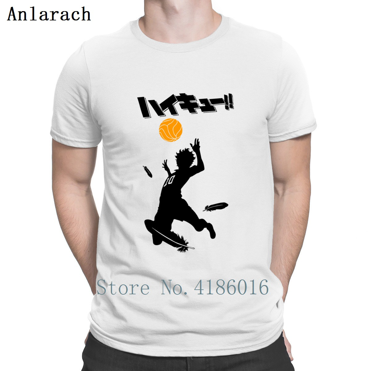 Haikyuu Volleyball T Shirt The New Personality Famous Novelty Men's T Shirts Summer 2019 Novelty Mens Fashion Pop Top Tee