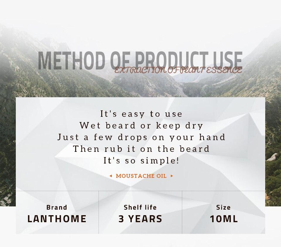 Barba crescimento óleo crescer cabelo barba cuidado