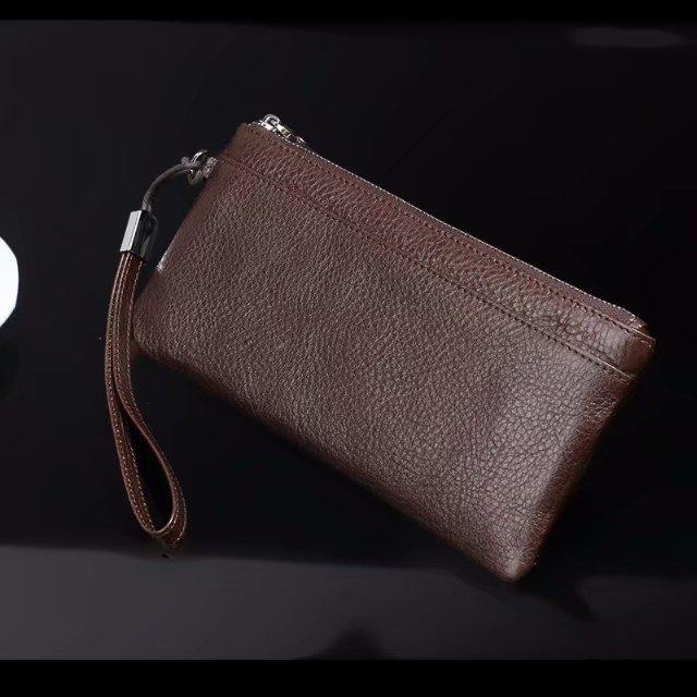 Pochette pour téléphone portable en cuir de vachette véritable pour Xiao mi requin noir, rouge mi S2/Y1/Y1 Lite, mi mi x 2 s, rouge mi Note 5 Pro