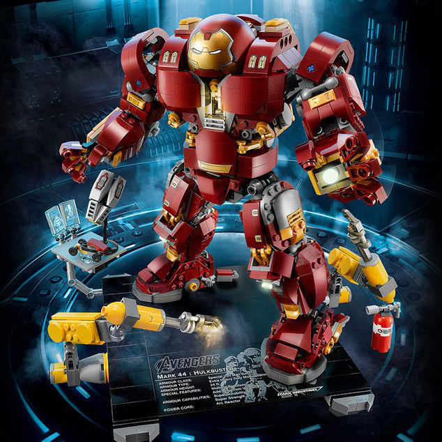 07101 1527pcs Super Genuine Hero Series The 76105 Iron Man Anti Hulk Mech Set Kid 39 s Toy Building Bricks Blocks Model Gifts in Blocks from Toys amp Hobbies