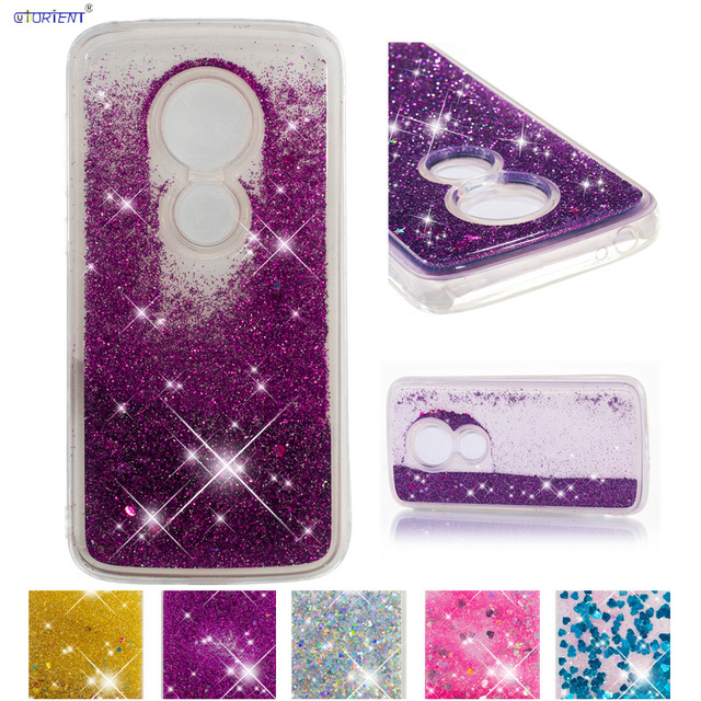best sneakers 0e32e d54ca US $4.21 8% OFF|Quicksand Case for Motorola Moto E5 Play XT1921 1 Silicone  Case Phone Cover for Moto E Play Gen 5 XT 1921 1 Glitter Liquid Case-in ...