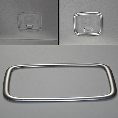 Rear Map Read Light Frame Moulding Cover Trims Fit For Hyundai Elantra 2016 17