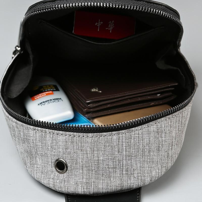 Scuola Breve Borsa Nuova Petto Da Estate Uomini Borse Sacchetto A Viaggio Tracolla Bag Di Degli Messenger nBSnW