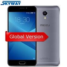 Orijinal Meizu M5 Not Küresel Sürüm Helio P10 Octa Çekirdek cep telefonu 3 GB 32 GB 5.5