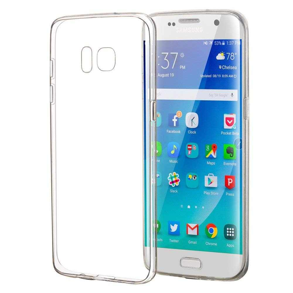 Detail Feedback Questions about Transparent Case For Samsung