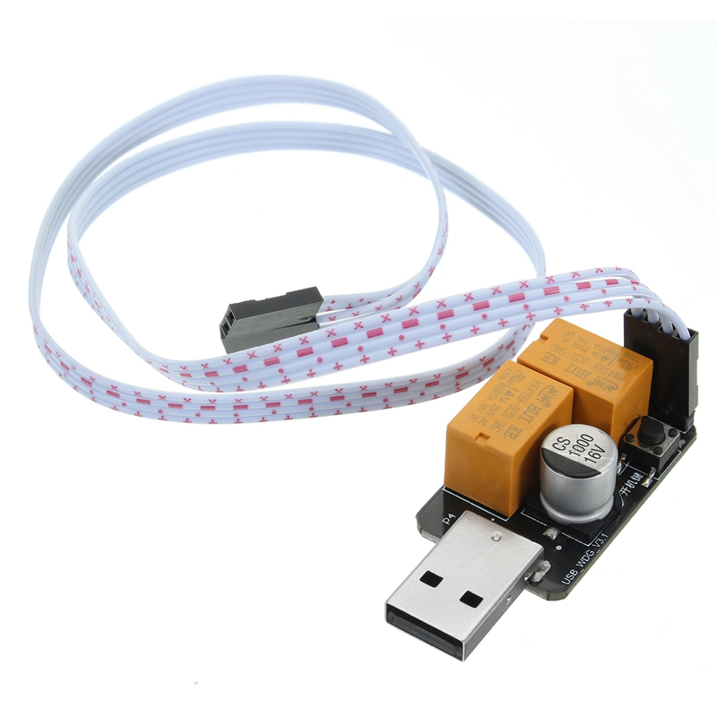 USB Watchdog Timer Card module Automatic Restart Hardware WatchDog 3.0 USB For Mining BTC Gaming Computer PC With Power-on Key ...