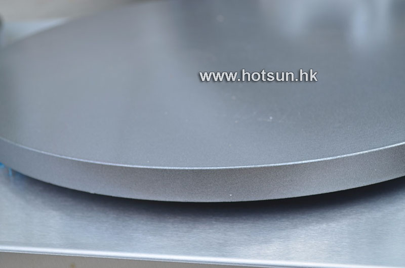 45cm Commercial Heavy Duty LPG Gas Non-stick Pancake Maker Crepe Making Iron Baker Mold Plate Machine