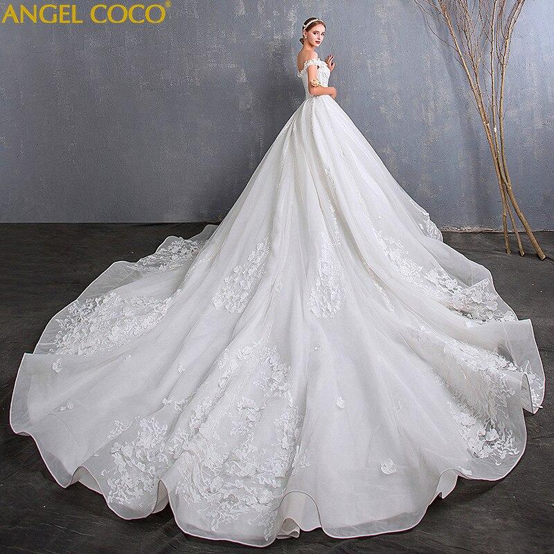 Большой Размеры беременных Для женщин свадебное платье плюс удобрения для увеличения Роскошные большой хвост Беременность материнства пл