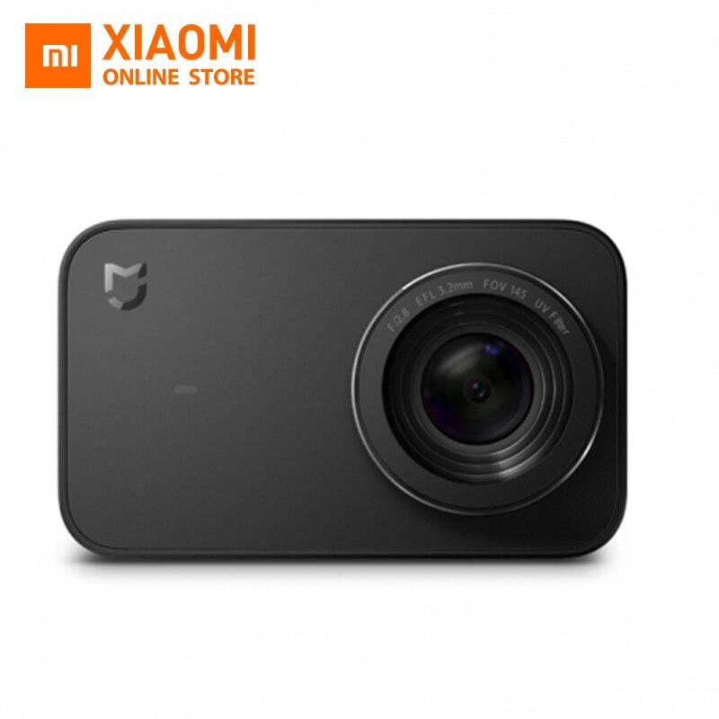 Английская версия Xiaomi mijia Мини Спорт действий Камера 4 К видео Запись Wi-Fi Цифровые камеры 145 Wide anglen приложение Управление