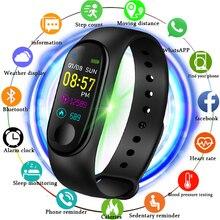 Купить с кэшбэком 2019 New Smart Wristband Men Women Sports Fitness Smart Bracelet Sleep Heart Rate Monitor Pedometer Smart Watch For Android ios