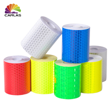 Car decoration Motorcycle Reflective Tape Stickers Car-Styling Automobiles Safe Material Safety Warning Decals