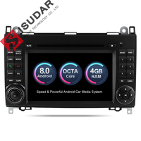 Isudar Автомагнитола 2 Din с 7 Дюймовым Экраном на Android 8.0 Для Автомобилей Mercedes/Benz/Sprinter/W169/B200/B class DSP OBD2