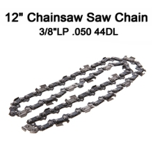 купить 12'' Metal Chainsaw Saw Chain Blade 3/8''LP .050 Gauge 44DL Pole Cut Wood Quick дешево