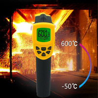 Digital Infrared Thermometer Non contact Laser Infrared Thermometer Hydraulic Gun Handheld Pyrometer Thermometer