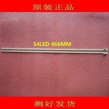 2 peças/lote PARA Haier LE43A720 SSL400_3E2K REV0.2 lâmpada Artigo 54LED 1 peça = 466mm