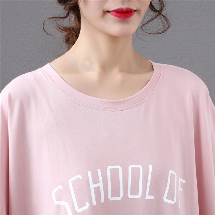 2019 Summer New Arrival Loose Female T-shirt Plus Size 2
