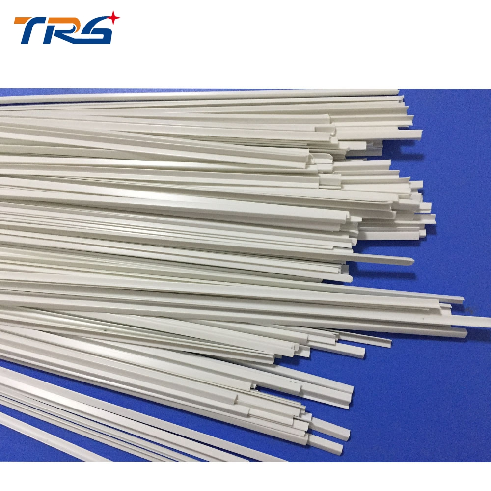 Scale Model Plastic Bar ABS Smooth  L-shape Special Dia 2.0*2.0mm Length 50cm For Architectural Layout Making Materials