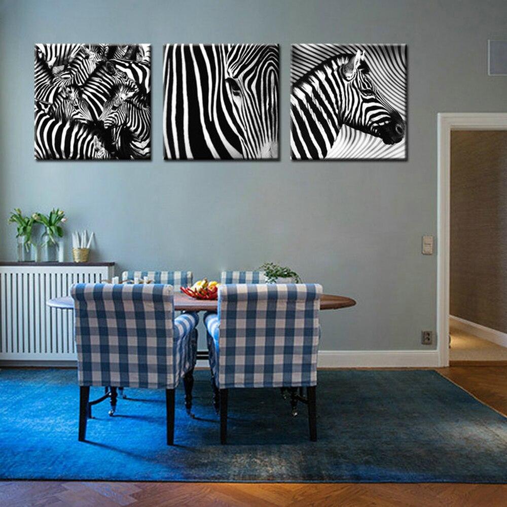 Online kopen Wholesale zebra print schilderen uit China zebra ...