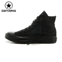 Converse Authentic Evergreen Classic Men S Shoes Black High Top Models Canvas Shoes