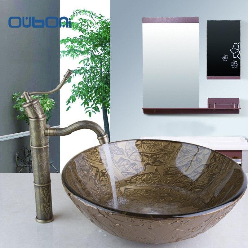 Art Gl Bathroom Sinks Ideas
