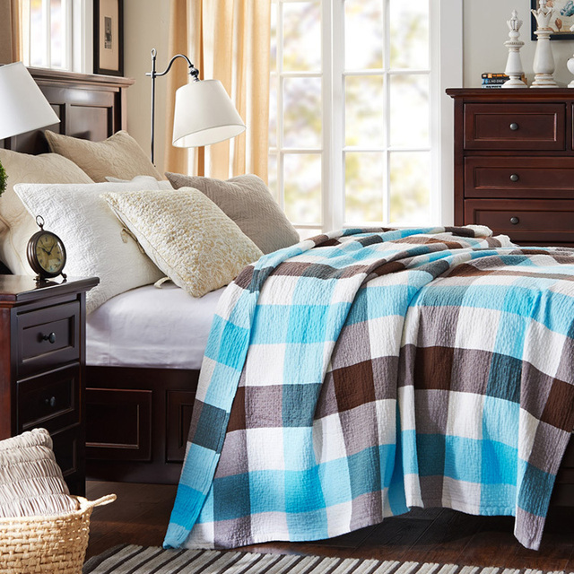 Summer Style Thread Blankets Twin/Full/Queen Size,Soft Cotton Gauze Blanket  Coverlets