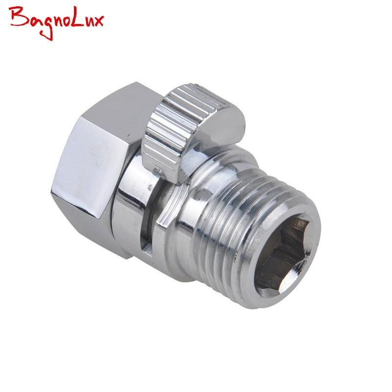 Wholesale Shower Pressue Quick Valve Brass Water Control Valve Shut Off Switch for Bidet Spray or