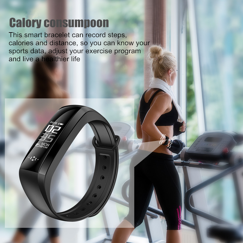 M2S Fitness Tracker Sport Blood Pressure Smart Bracelet Waterproof Heart Rate Monitor Watch Passometer Stopwatch call reminder