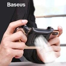 Baseus мобильный кулер для телефона для iPhone Xs Max Xs XR игровой шутер контроллер для samsung huawei 4,7-6,5 дюймов аксессуары для телефонов