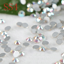 1440PCS SS4  Nail Art  Crystal AB  Non HotFix Rhinestones  rhinestone applique strass diy flatback fingernail stones