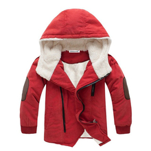 KEAIYOUHUO 2020 jesień zima chłopcy kurtki dla dzieci dziewczyny kurtki dla chłopców płaszcze dziecięca odzież wierzchnia płaszcz dla chłopców ubrania 3-12 rok tanie tanio Moda Poliester COTTON Pełna Stałe REGULAR Pasuje prawda na wymiar weź swój normalny rozmiar Czesankowej boys jacket