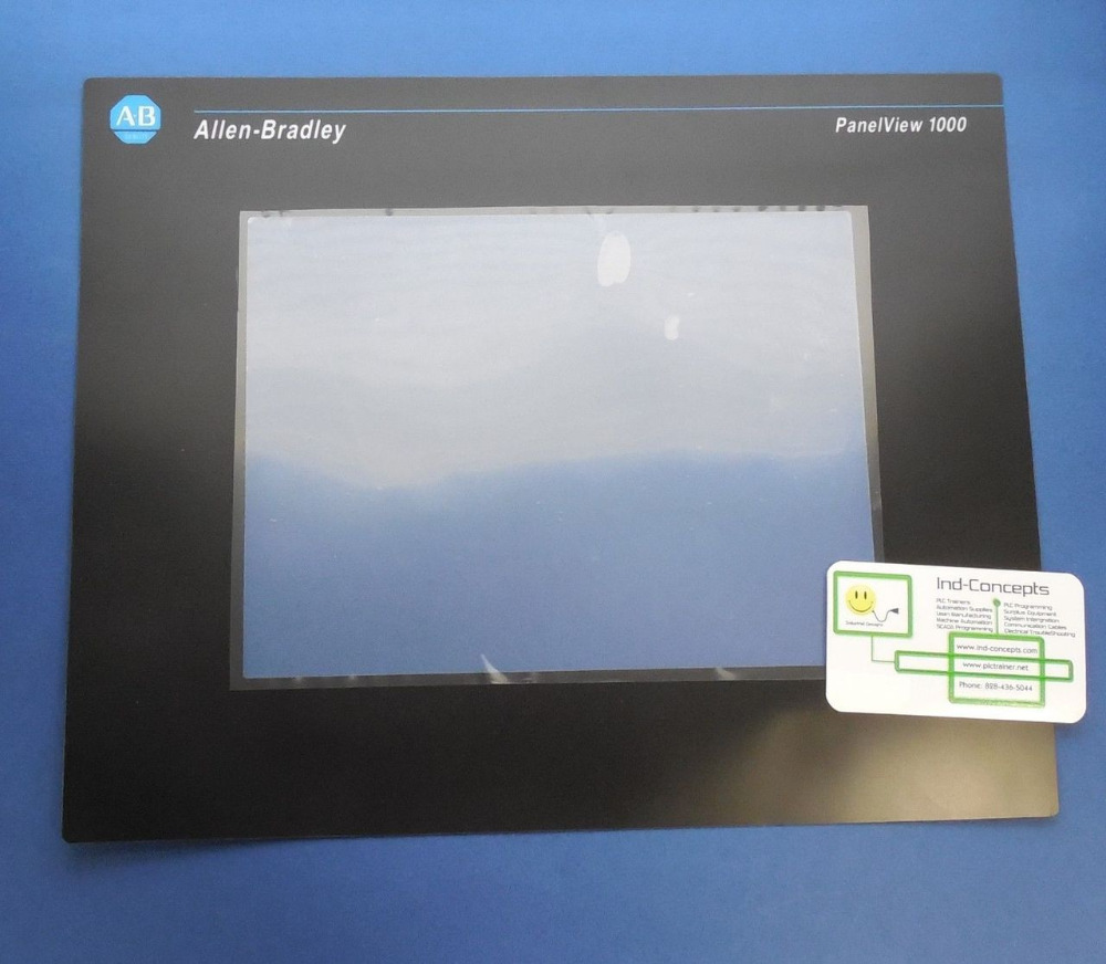 ALLEN BRADLEY 2711-T10C PANELVIEW 1000 TOUCH SCREEN REPLACEMENT COVER 2711-T10G OVERLAY 2711 t10g3 2711 t10g3l1 panelview 1000 touch glass panel
