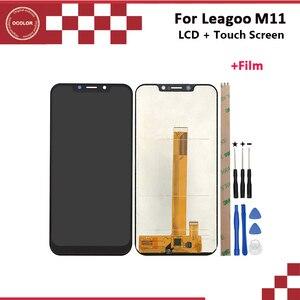 Image 1 - Ocolor Für Leagoo M11 LCD Display Und Touch Screen Neue Ersatz Für Leagoo M11 LCD Digitale Zubehör + Werkzeuge + klebstoff + Film