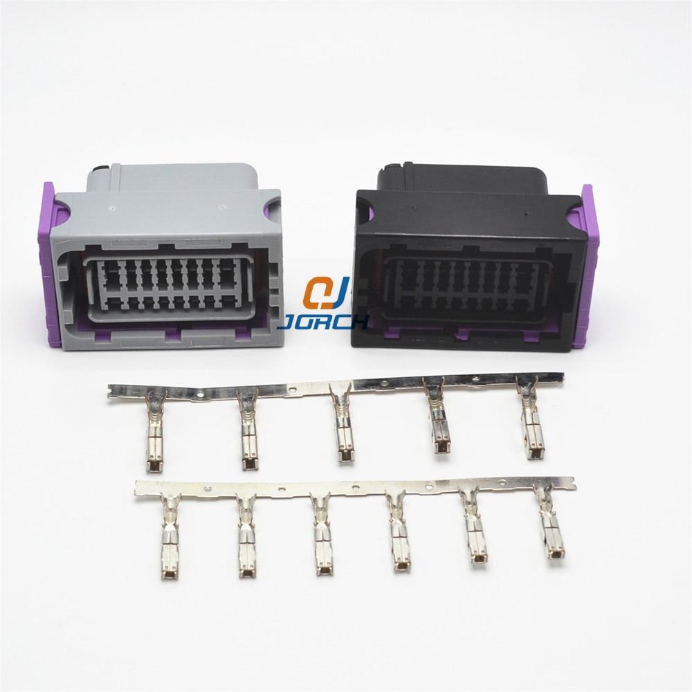 1 Set FCI ECU Connector 24 Pin 24 Way Female Housing Sealed Plug Socket Connectors 211PC249S8005