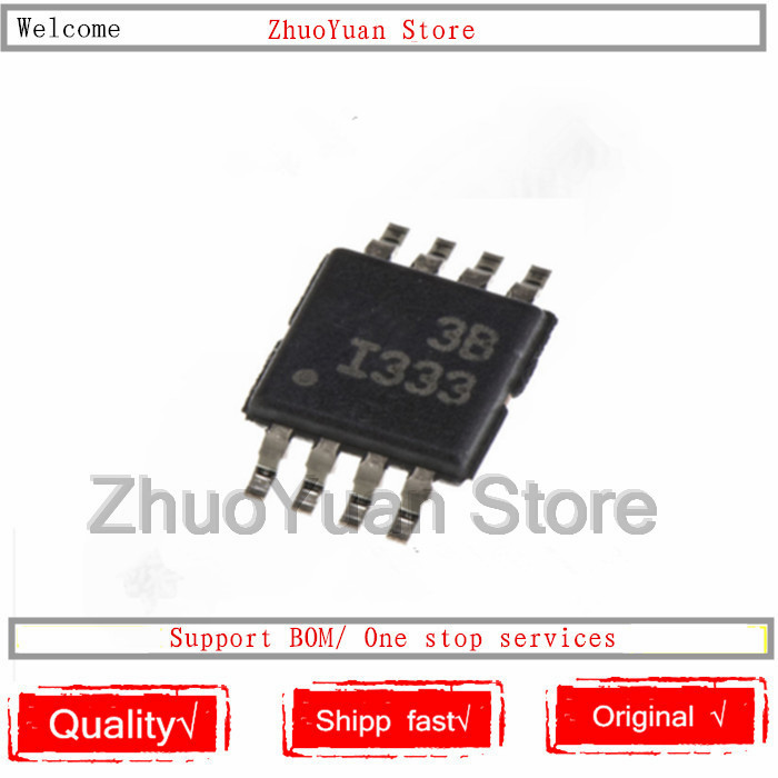 1PCS/lot New Original INA333AIDGKR INA333AIDGKT INA333 MSOP-8 IC Chip