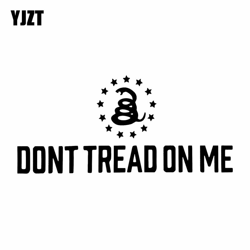 """Molon Labe Vinyl Decal Sticker Dont Tread on Me Come and take them Red 3/"""" in."""