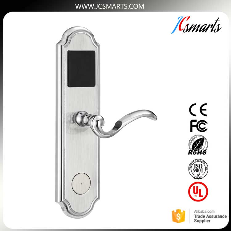 Electronic combination lock smart IC card lock for hotel door access control system digital electric best rfid hotel electronic door lock for flat apartment