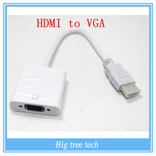 5PCS Male to Female HDMI to VGA Adapter Converter HDMI Cable for Xbox 360 for PS3 DVD PC Laptop Tablet Full HD 1080P HDTV(China (Mainland))