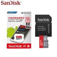 Sandisk 16gb micro sd cartão de memória original a1 microsd max 80 m/s uitra classe 10 tf cartão 16gb cartão de memória sdhc