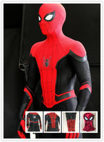 Custom Made Far From Home Spiderman Cosplay Costume 2018 New style 3D Printing Spider man Costume adult/kids Free Shipping