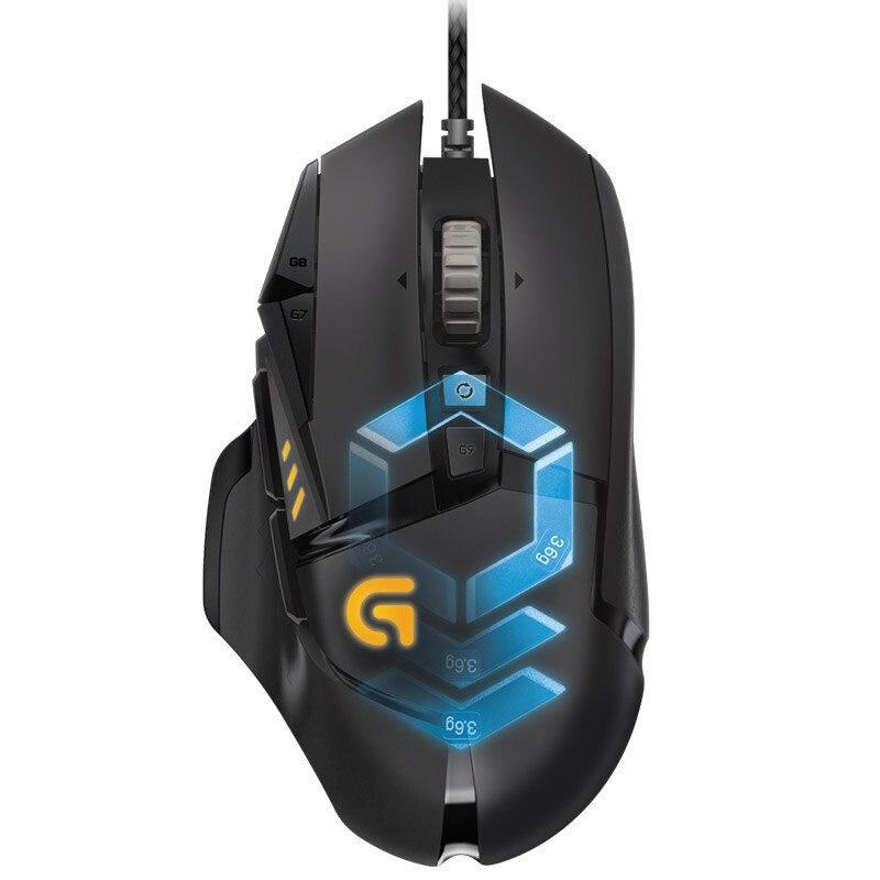 Logitech G502 Proteus juegos ratón ratones