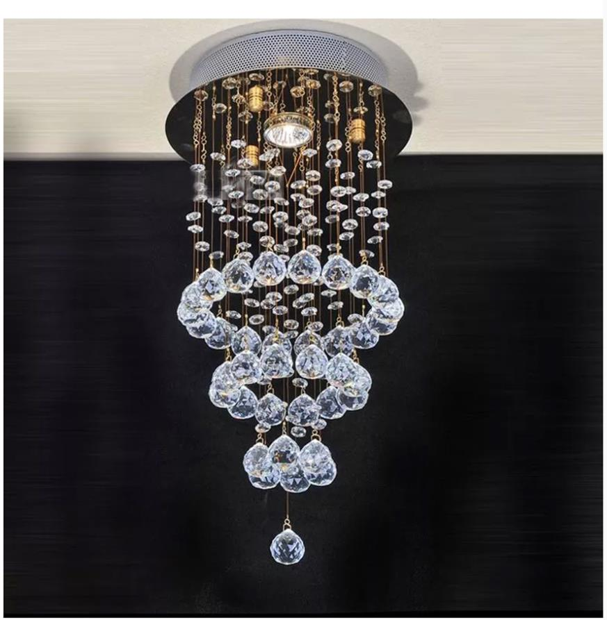Moderne Luxurious Re Crystal Chandelier Light D20 H51cm Suspension Luminaire Chandeliers And Pendants Home Lighting Led Lamp In From Lights