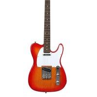 LT электрогитара 39 дюймов 6 струн Музыкальные инструменты палисандр гриф Professional Sunburs гитара бренд Telecaster Tele