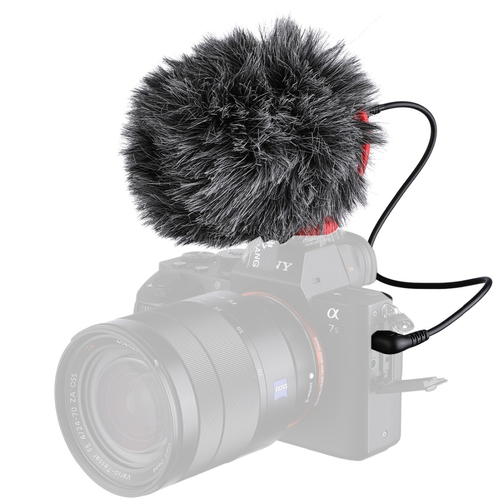 YC-VM100-Video-Record-Microphone-Compact-Video-Micro-On-Camera-Recording-Mic-for-iPhone-X-8 (3)